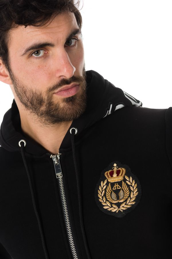 Pull/Sweatshirt Homme horspist STONE M300 BLACK