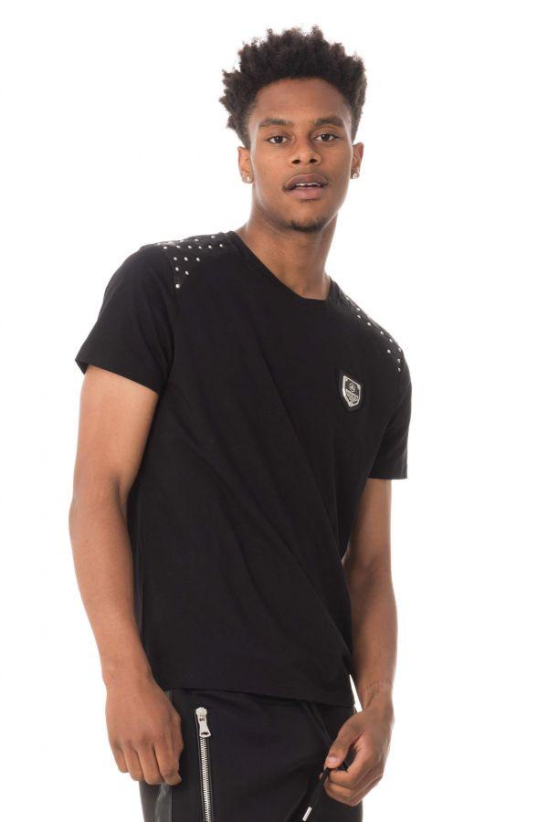 Tee Shirt Homme horspist DEV BOOSTER BLACK
