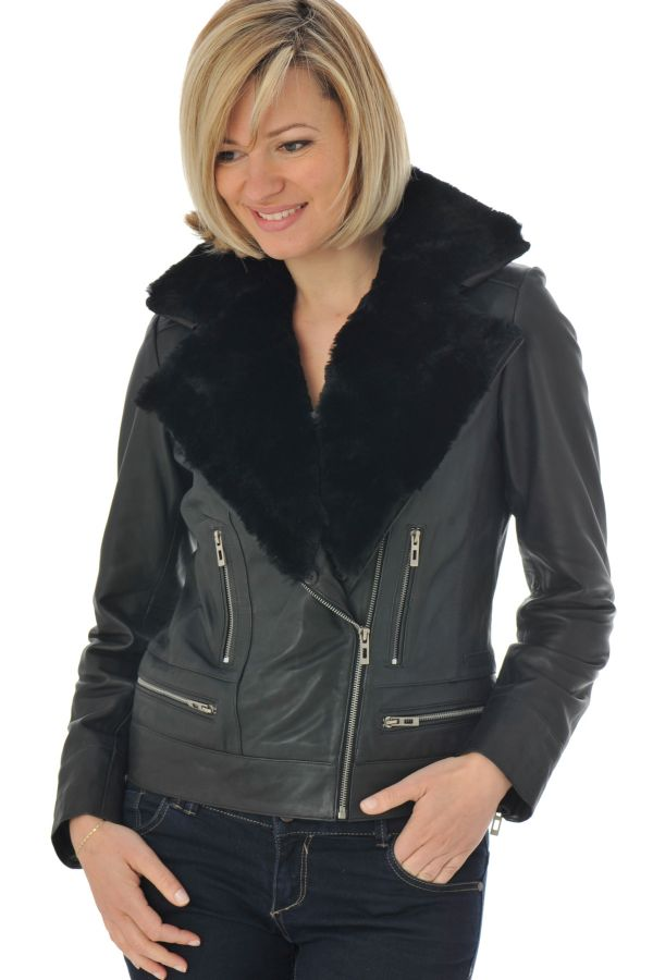 Blouson Femme mornington SHERPA BLACK