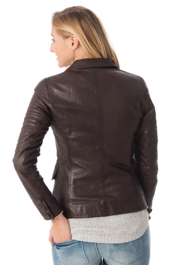 Veste Femme rose garden IRINA LAMB RUBY BROWN