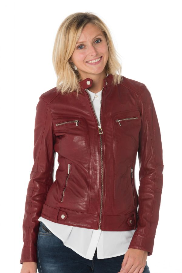 Blouson Femme Rose Garden SILENE SHEEP AOSTA RED CHILI PEPPER