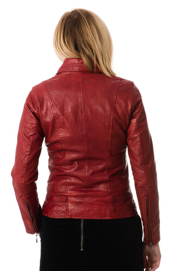 Blouson Femme rose garden JULIETTE SHEEP AOSTA RED CHILI PEPPER