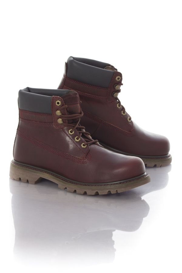 Boots / bottes Homme Caterpillar COLORADO MENS BURGUNDY
