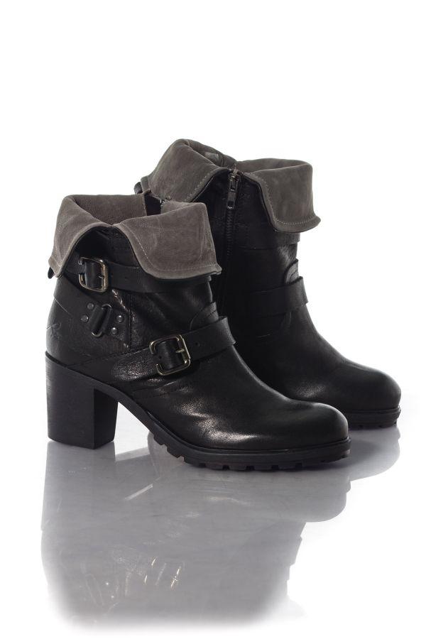 Boots / bottes Femme Chaussures Redskins ZEDDA NOIR GRIS