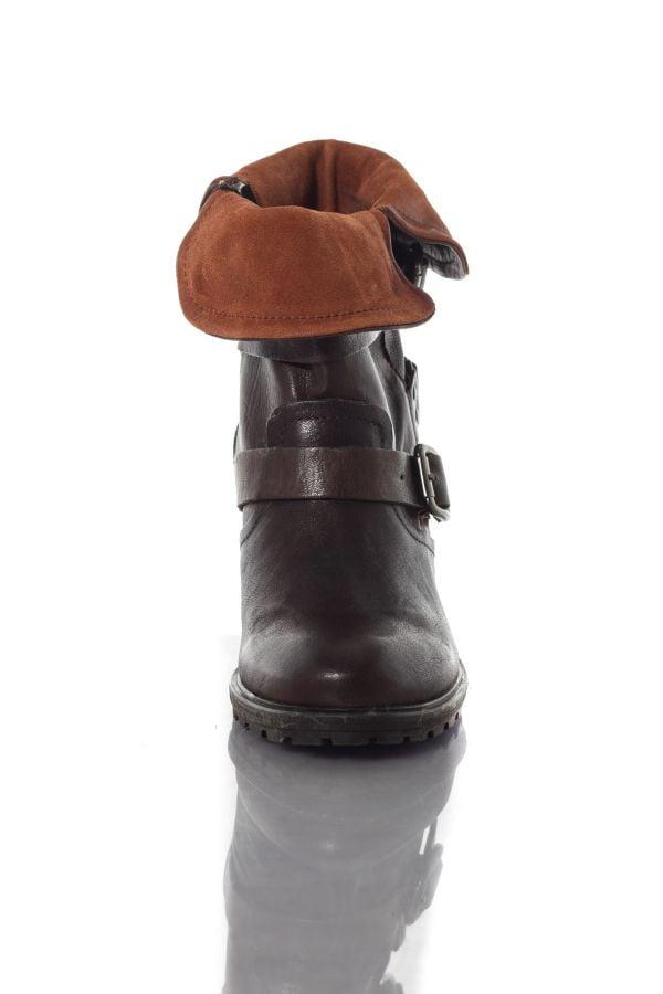Boots / Bottes Femme Chaussures Redskins ZEDDA CHATAIGNE COGNAC