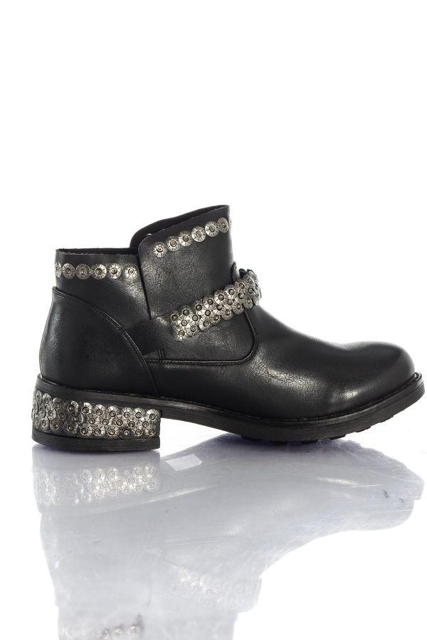 Boots / bottes Femme Chaussures Redskins TIFANI NOIR