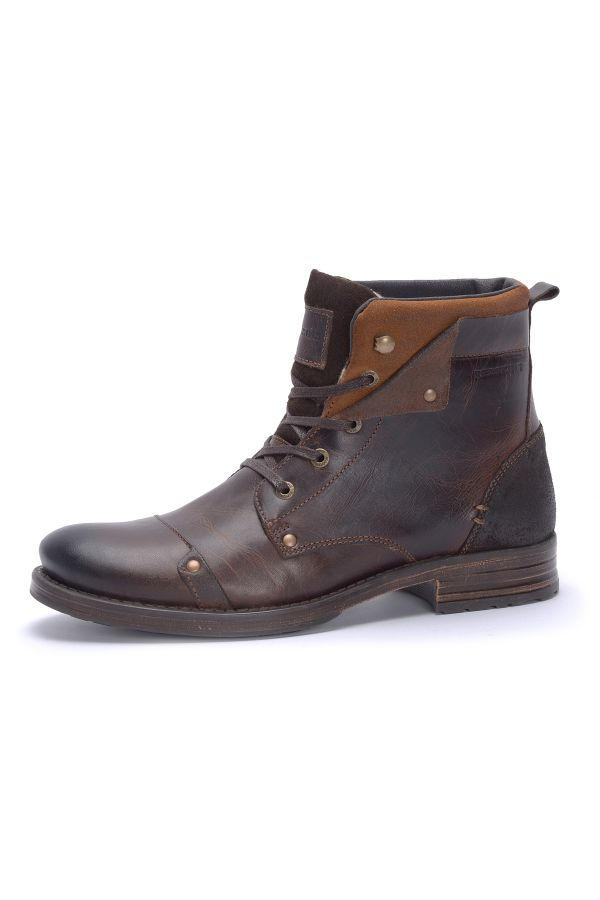 Boots bottes homme chaussures redskins yedes chataigne - Lycee jacobins beauvais portes ouvertes ...