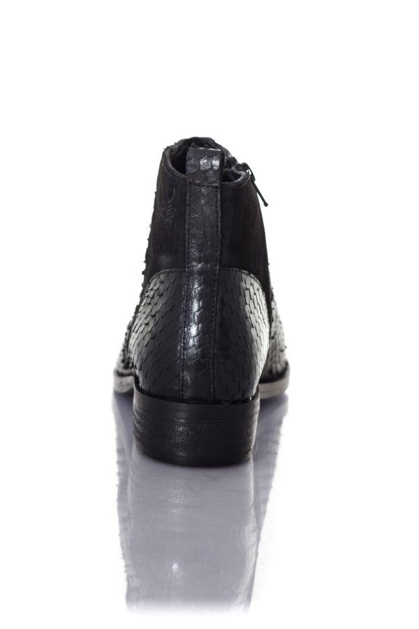 Bottes Femme Nathalie 10505 Boots Kaporal Shoes Noir eIW92EDYbH