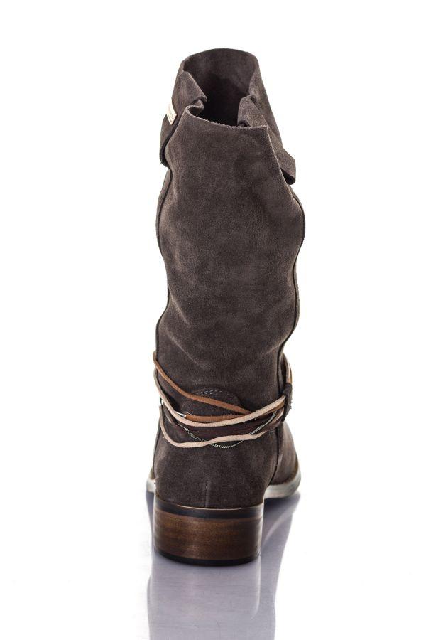 Boots / bottes Femme Les Tropéziennes par M Belarbi CAMERON CHARBON CHARCOAL