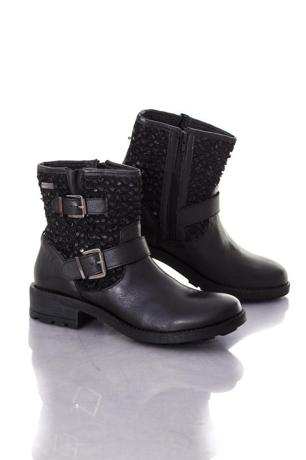 Boots / bottes Femme Les Tropéziennes par M Belarbi AMAZONE NOIR