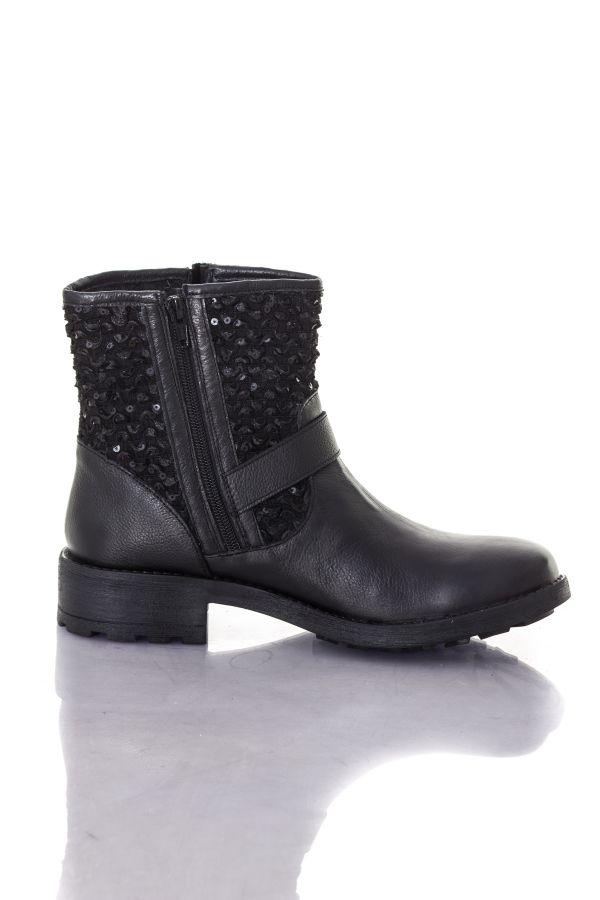 Femme Les Belarbi M Tropéziennes Boots par NOIR bottes AMAZONE 4wHqxxfZ5