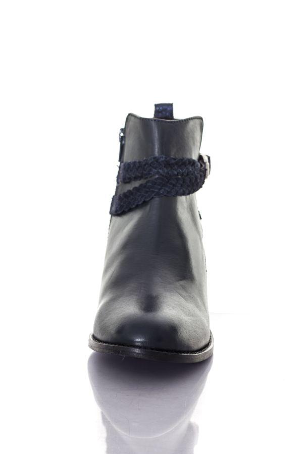 Boots / bottes Femme Les Tropéziennes par M Belarbi MISTRAL NAVY MARINE