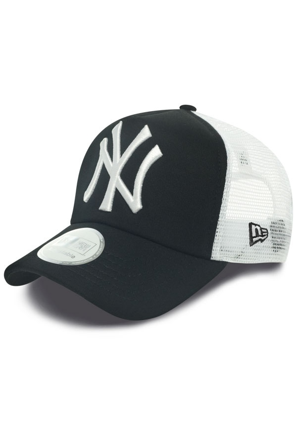 Casquette Homme New Era CLEAN TRUCKER NEYYAN BLACK/WHITE