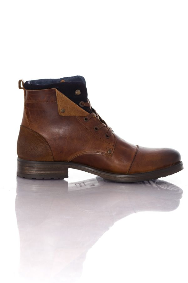 Chaussures Homme Chaussures Redskins YEDES COGNAC MARINE
