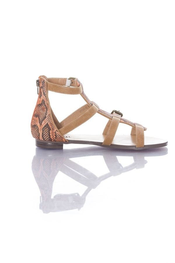Chaussures Femme Kaporal PLITZ CAMEL/CORAIL 116
