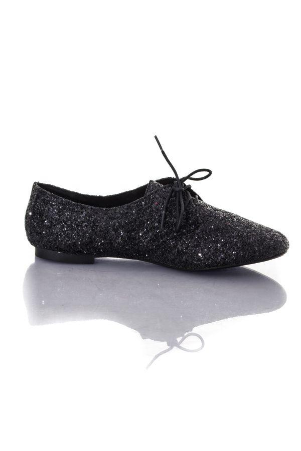 Noir Shoes Femme Chaussures Cuir Kaporal Saluzo nHBAf7Zq