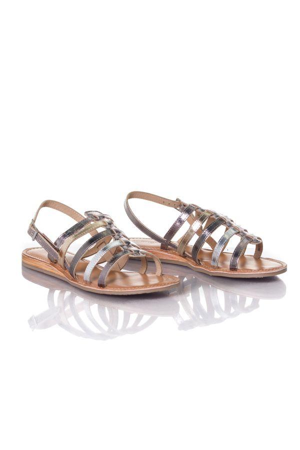 39ab364a4769 Chaussures Femme Les Tropéziennes par M Belarbi HAVAPO ARGENT MULTI ...
