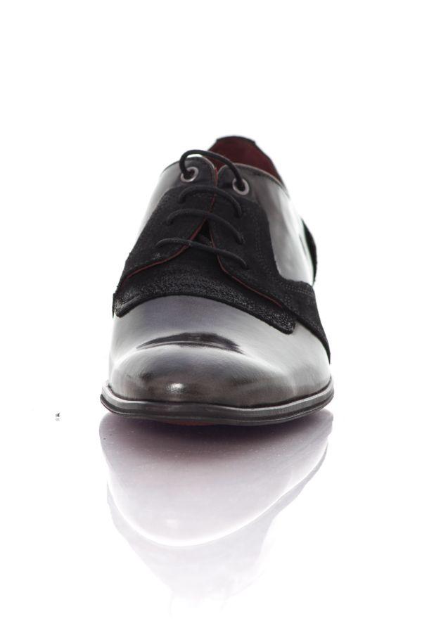 Chaussures à Lacets Homme Chaussures Redskins ZORGAN ANTHRACITE NOIR