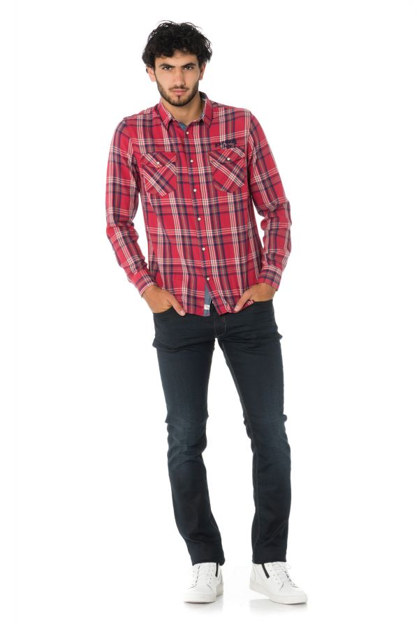 Chemise Homme Kaporal FAB NEO RED