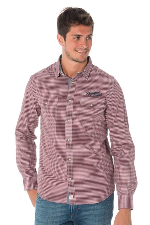 Chemise Homme Kaporal FIDO NEO RED
