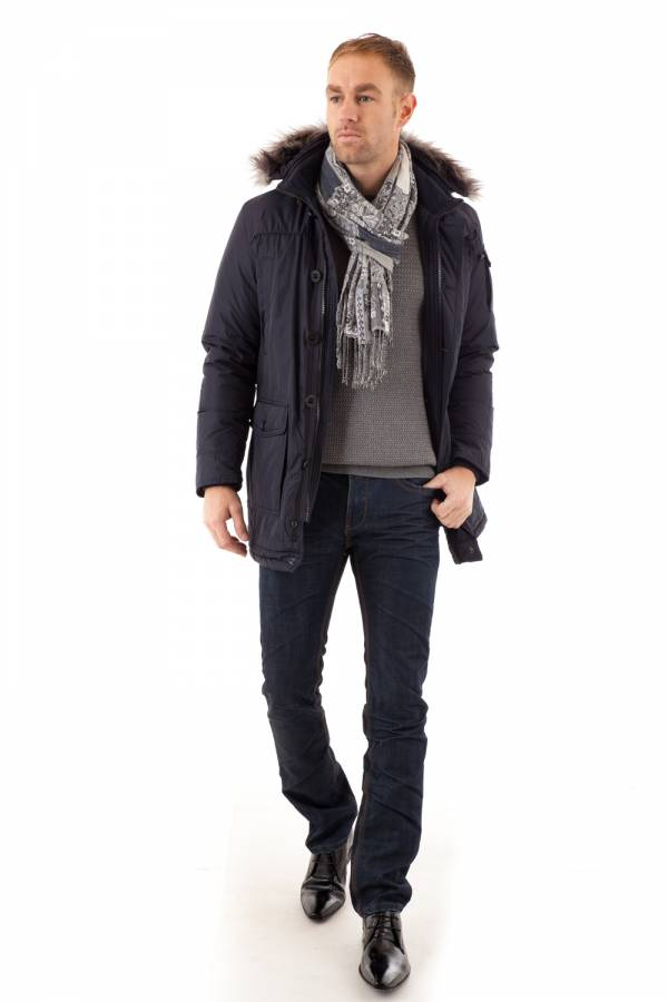 Veste Homme Serge Pariente BROOKLYN NAVY