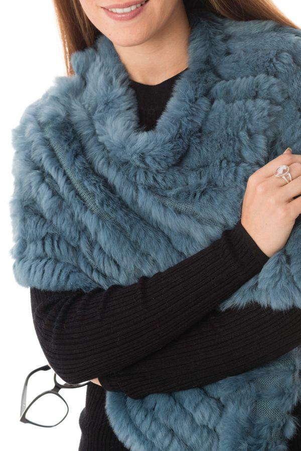 Fourrure Femme Oakwood DAVOS BLEU GLACE 0629