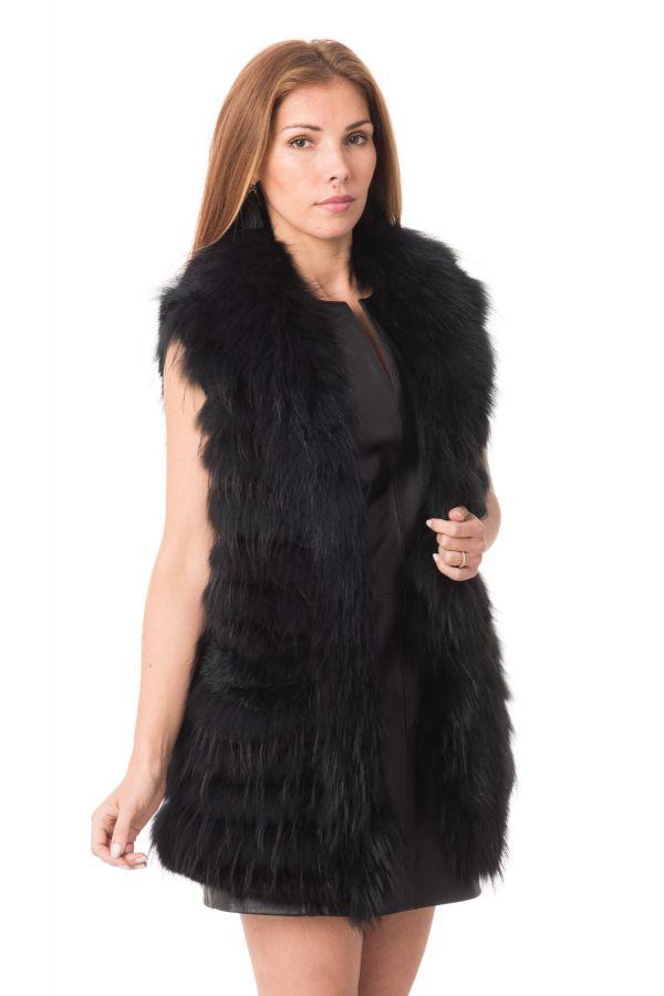 501 Oakwood Femme Beauty Noir Cuir Fourrure 1WBq80wx4q
