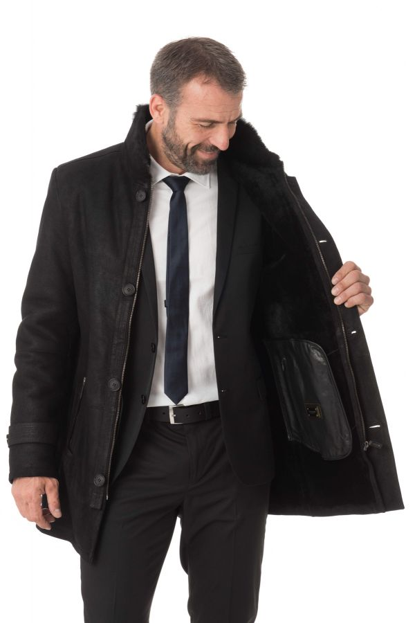 Veste Homme 29th october MENDEL MERINOS NOIR