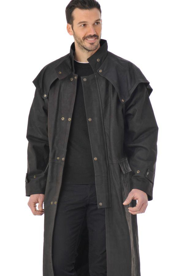 Manteau 34 australien homme en cuir de vachette