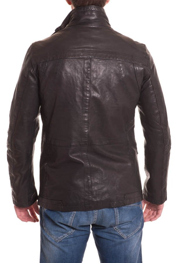 Manteau Homme Daytona RICARDO LAMB REDDISH BROWN ZZ
