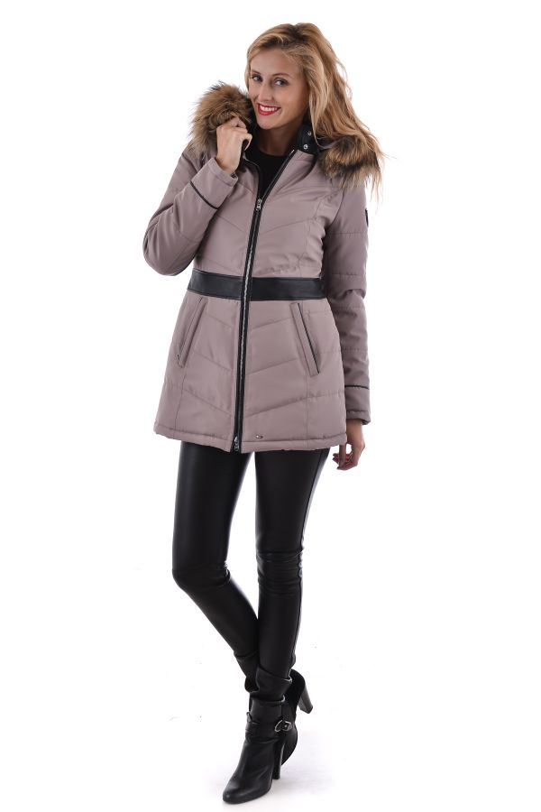 Manteau Femme Oakwood VALLEY 1 TAUPE 525