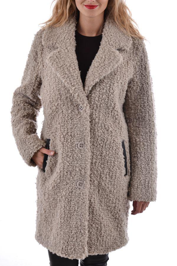 Damen Mantel Oakwood PLUSH TAUPE 525