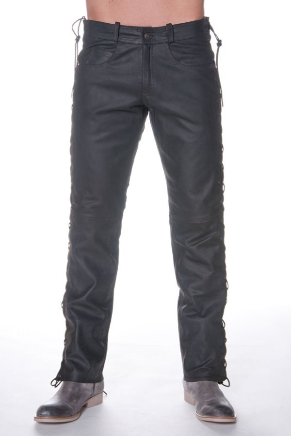 Pantalon Homme Last Rebels PANTALON LACES SK MARRON