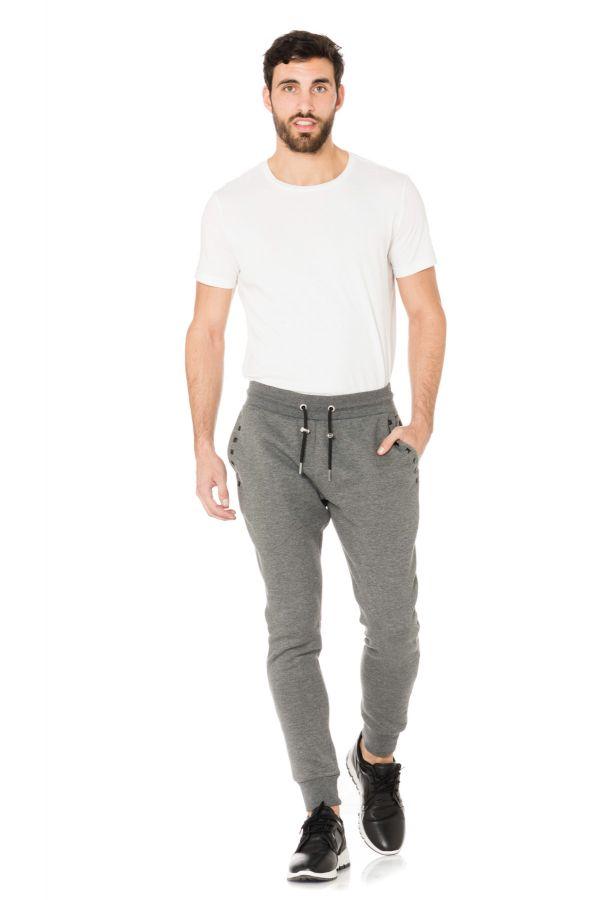 Pantalon Homme Horspist LOGART ANJO ANTHRACITE CHINE
