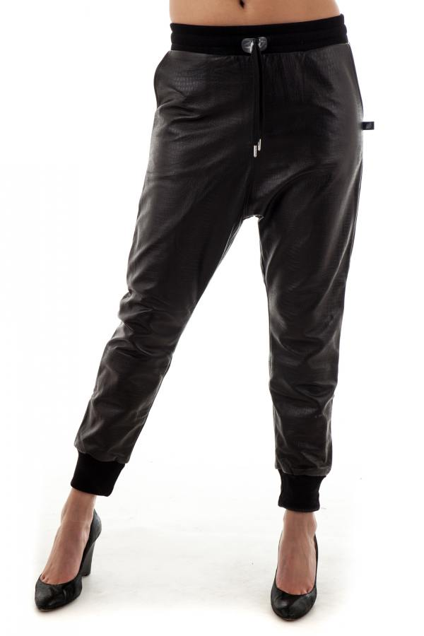Pantalon Femme sweet pants CROCO LOOSE