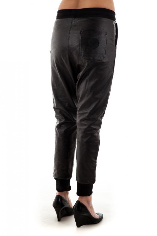 Damen Hose Sweet Pants CROCO LOOSE