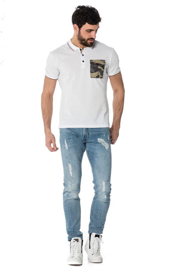 Polo Homme Antony Morato MMKS01175 / 1000