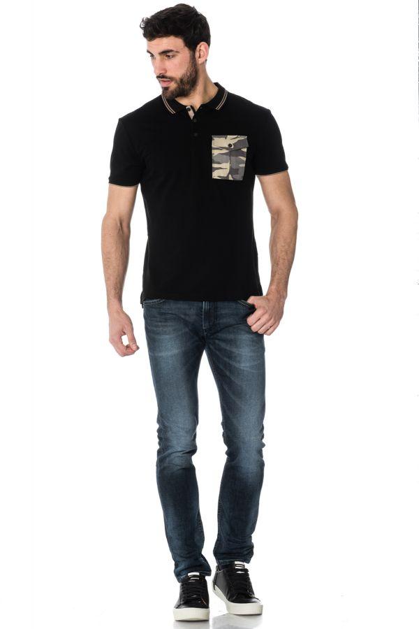 Polo Homme Antony Morato MMKS01175 / 9000
