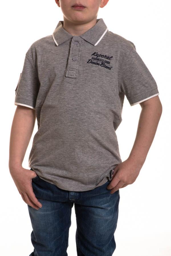 Polo Enfant Kaporal ULMA GREY MELANGED