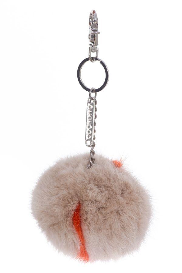 Porte clef femme oakwood macaron bicolor 3 615 cuir - Boutique orange beauvais ...