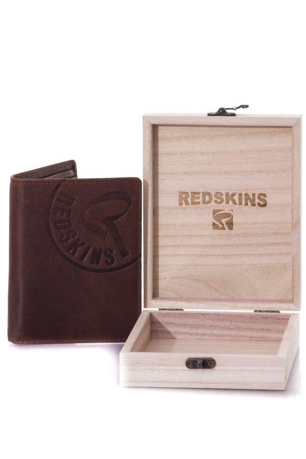 Portefeuille homme Accessoires Redskins ELECTRON MARRON