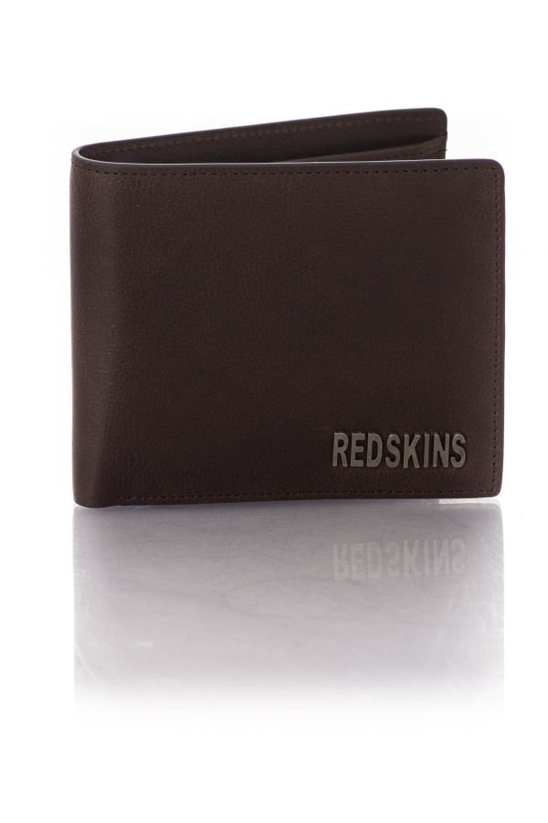portefeuille homme accessoires redskins redbasile marron cuir. Black Bedroom Furniture Sets. Home Design Ideas