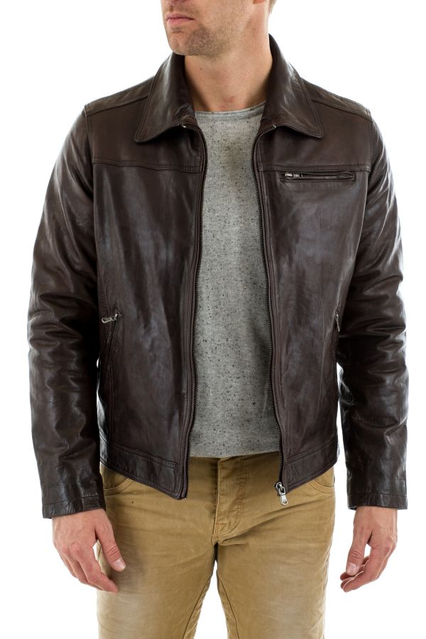 Blouson Homme Daytona MAJOR SHEEP TIGER REDDISH BROWN