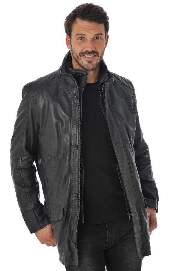 Veste Homme Daytona BERGA LAMB HARMONY BLACK ZZ