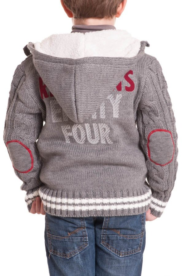 Pull/Sweatshirt Enfant Redskins Junior NEWZELAND GRIS CHINE