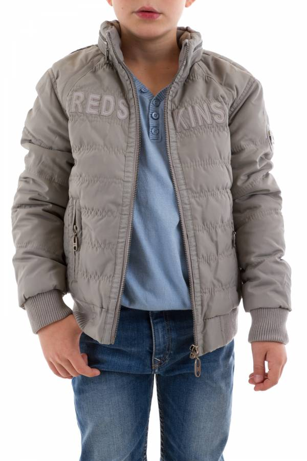 Blouson Enfant Redskins Junior BIKKY 2 GREY MOON