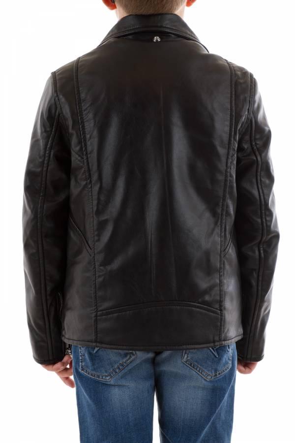 Blouson Enfant Schott LCB600 BLACK