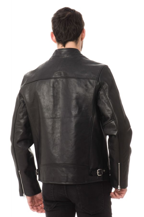 Blouson Homme Schott LC940D BLACK