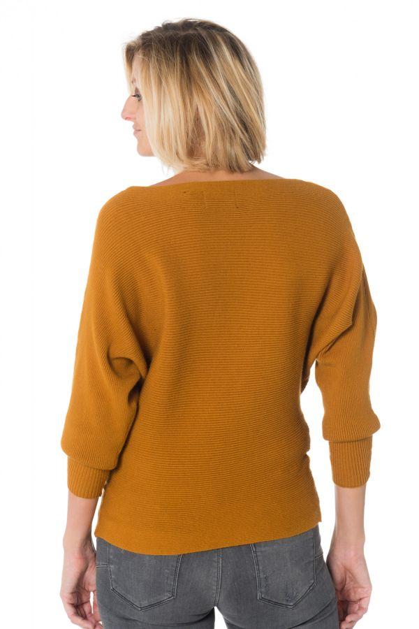 TERRY Cuir du PullSweatshirt cuir MIEL spécialiste Kaporal – Femme EI2YWHeD9