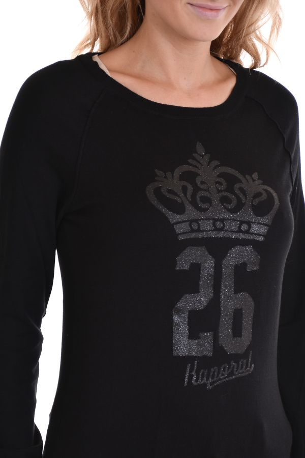 Pull/Sweatshirt Femme Kaporal MUNGO BLACK H15